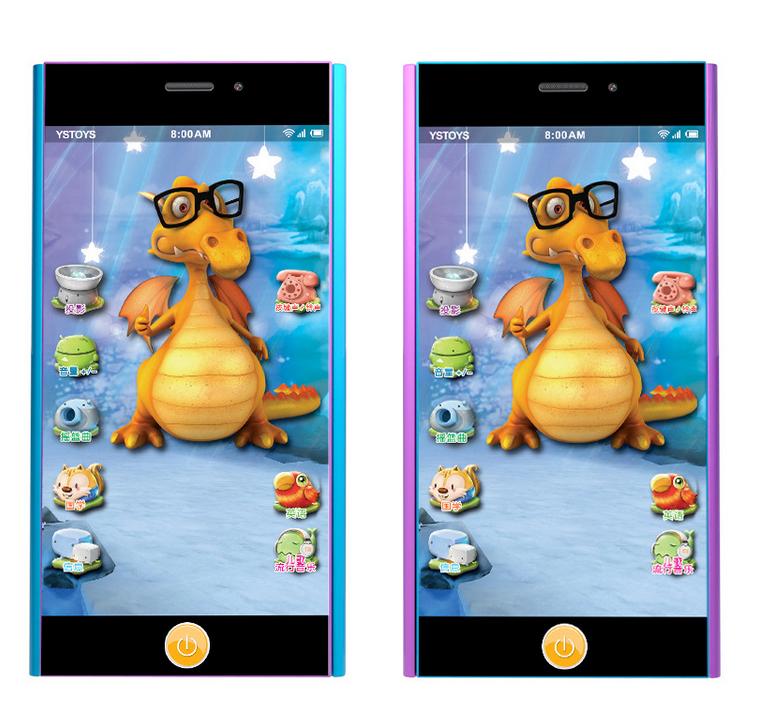 新款儿童小米觸屏玩具手機 1