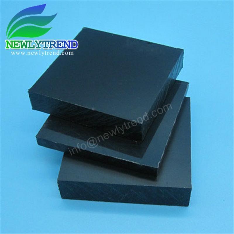 Flame Retardant Black Color ABS Sheet  2