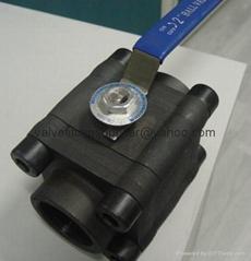 800LB-1500LB 3 Pcs Forged steel ball va  e