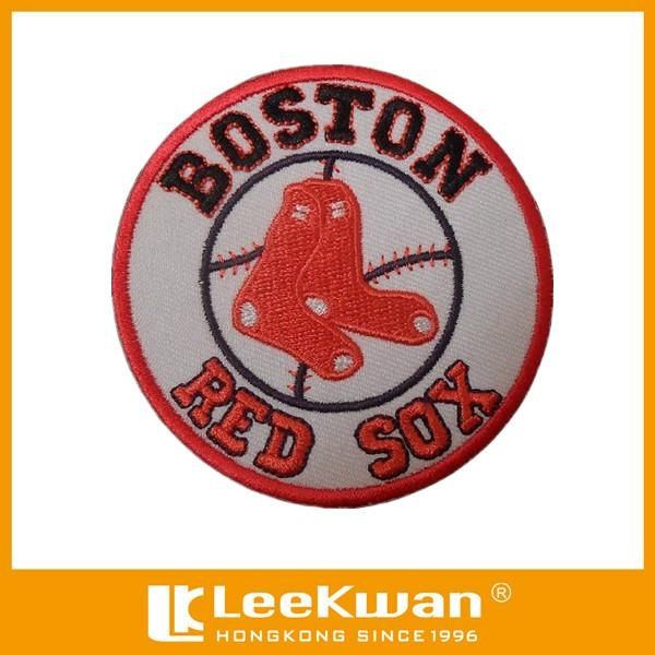 Boston Red Sox Team Embroidery Applique For Ball Uniform 1