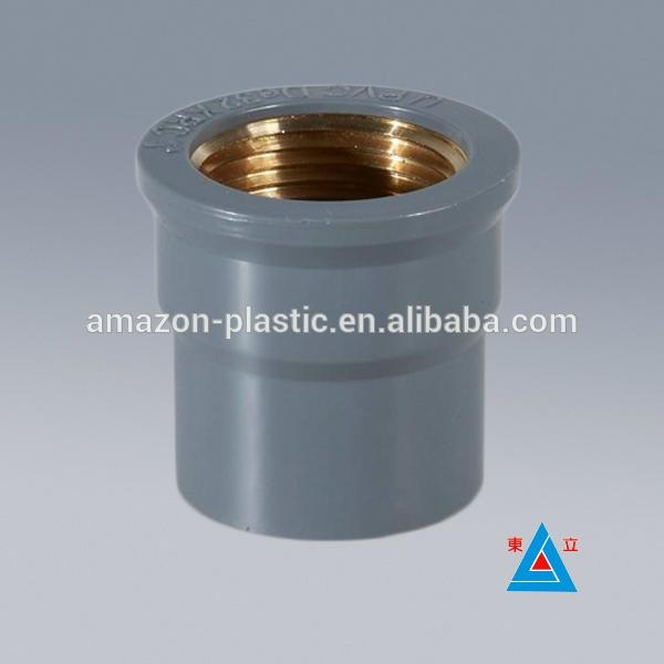 Plastic types of pvc pipe and fitting