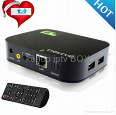 North America Kedoo Live satellite receiver no dish IPTV box with 315 channels