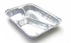 铝箔餐盒 三格