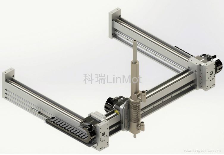 LINMOT F系列多滑块直线模组 5