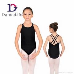 C2038 Girls Artistic Gymnastics Leotards Children Ballet Dance Leotards
