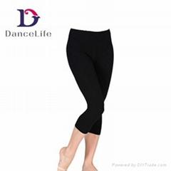 C2512 Child Capri Pants Dance Wear Kid Pants Active Wear Hip Hop Dance Pants Jaz