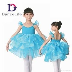 C2241 Wholesale Girls Performance Ballet Tutu Dress Kids Classical Ballet Tutu B