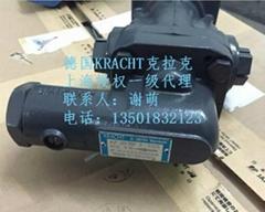 德国原装进口KF20RF2-D15齿轮泵 KRACHT克拉克
