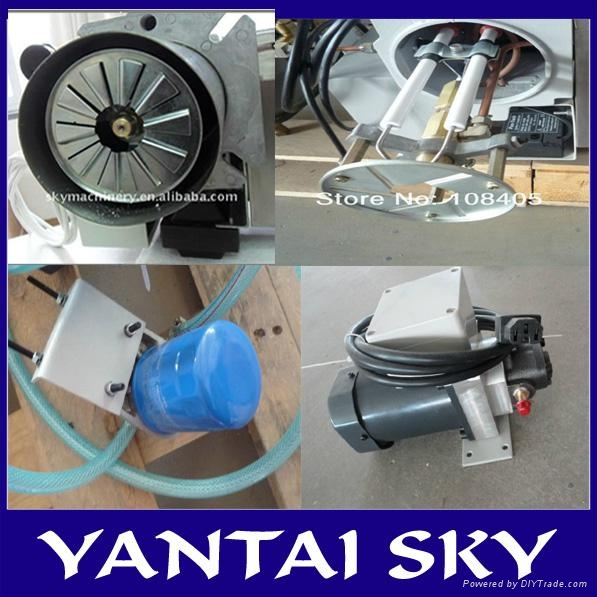 alibaba express china sky waste oil burner for spray booth 4