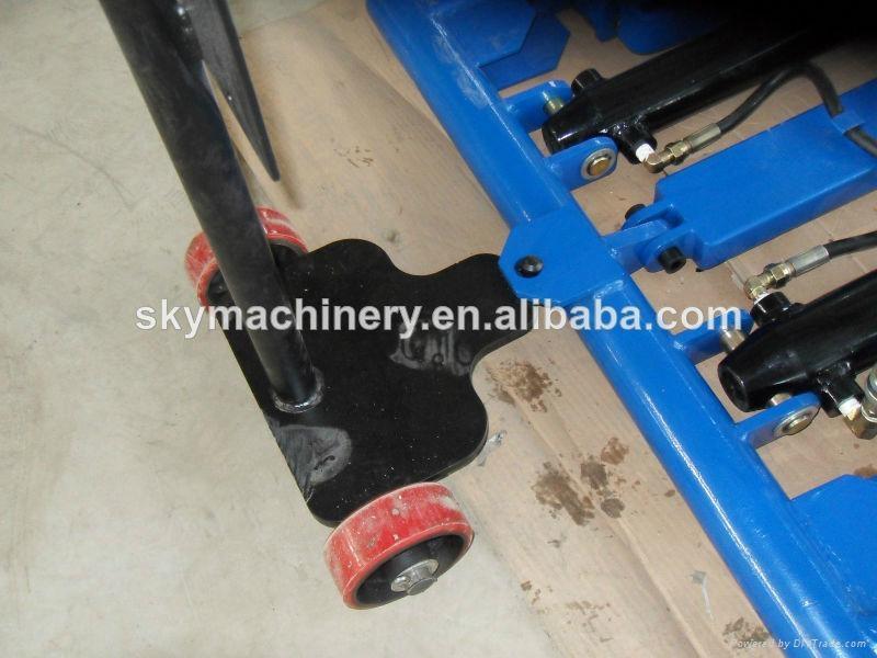 car workshop equipment scissor car lift 2