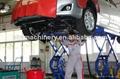car workshop equipment scissor car lift 3