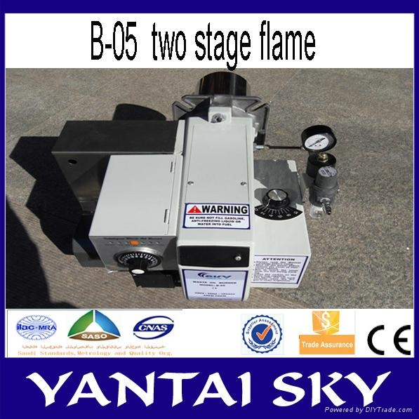 alibaba express china sky waste oil burner for spray booth 2