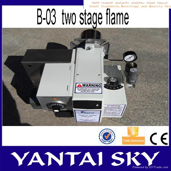 alibaba express china sky waste oil burner for spray booth 3