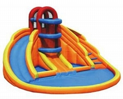 inflatable water slide Inflatable spiral slide