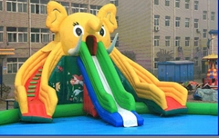giant pool slide inflatable dragon slide inflatable shark slide elephant