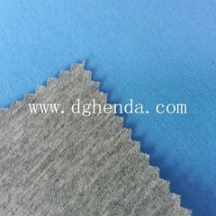 grey knitting fabric bond blue knitting fabric