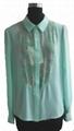 ladies chiffon blouse  1