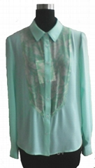 ladies chiffon blouse