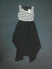 chiffon fashion stripe dress