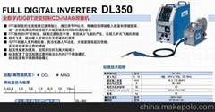 山東OTC一級代理全數字式逆變控制DL350氣保焊機
