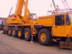 Gemany used Demag AC435 crane