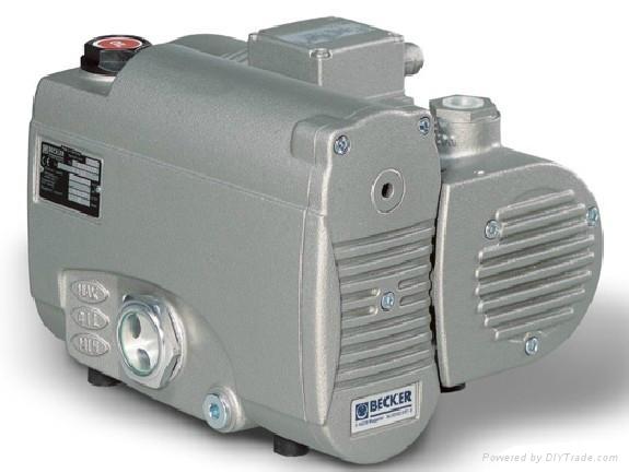 becker油润滑旋片式真空泵 1