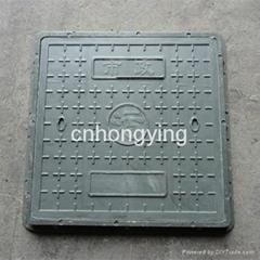 square composite manhole cover