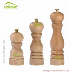 Salt Shaker And Pepper Mill Set of Two Pieces