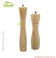 Natural Bamboo Salt And Pepper Grinder