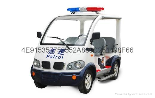 雲南巡邏車電動車廠家銷售 1