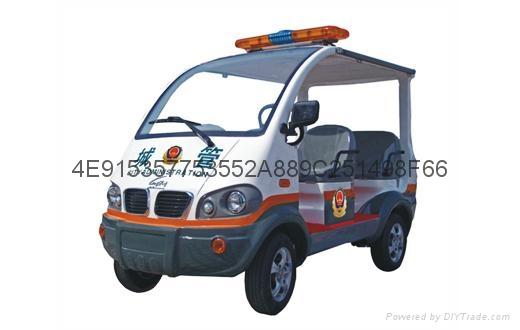 雲南電動城管巡邏車 1