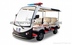 云南巡逻车八座大车型15座朗晴巡逻车