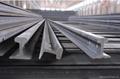 steel rails light rail railway rail