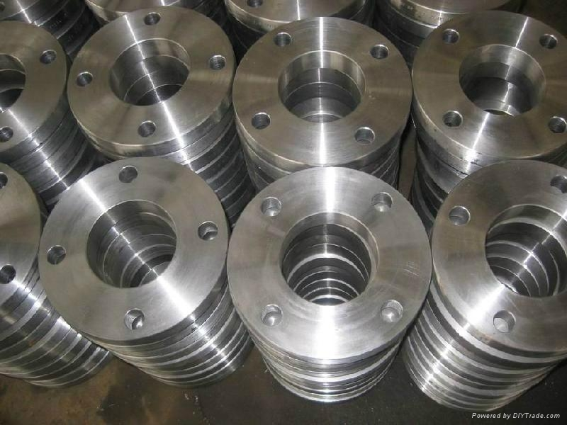 Hot rolled plate cutting oil or gas pipe flange 5