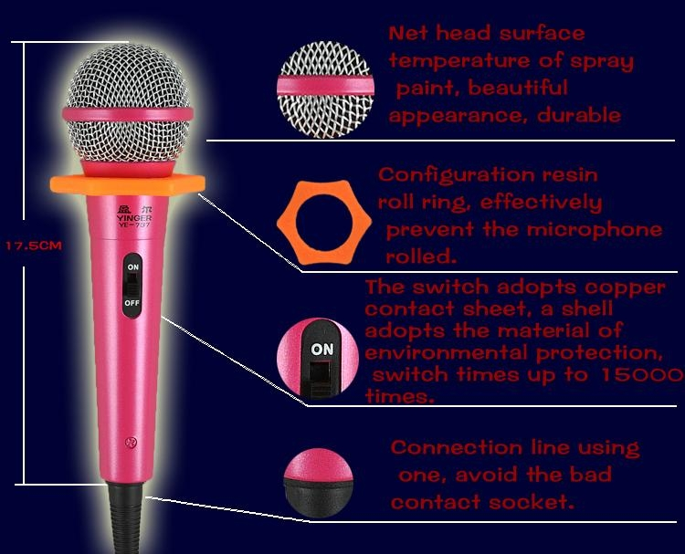 Wired microphone 2