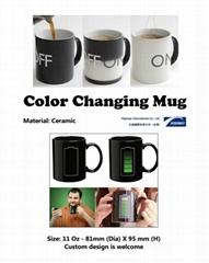 Customized Color Changing Mug