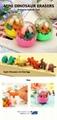 Dinosaur eraser capsule toy