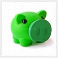 Piggy vinyl money box