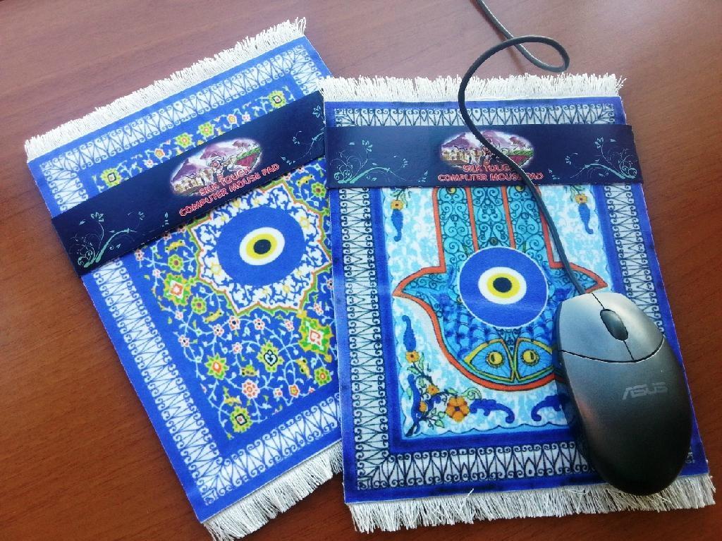 ... Turkish Silk Touch Rug Kilim Design Carpet Mouse Pad Mats ...