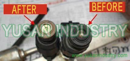 Metal cleaning agent for aluminium or copper or Magnesium-titanium alloy 1