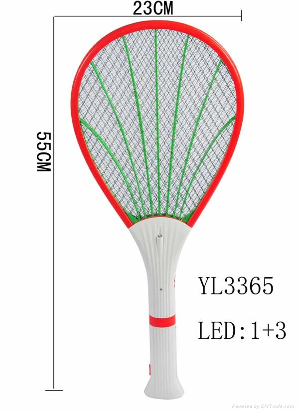 Rechargeable electric fly mosquito swatter 2