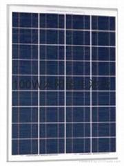 太阳能电池板100W