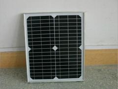 单晶10W太阳能电池板