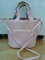 53e697d121a Woven hand-made PU leather handbags - ST-2403 (China ...