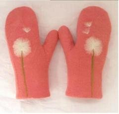 Cashmere hand-made bespoke warm gloves for winter season