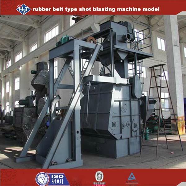 Rubber belt type Shot Blasting Machinery 3