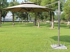 夏圖悠SY-6010圓形雙頂羅馬傘庭院傘