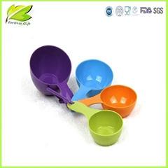 plastic measuring cups tools set of 4