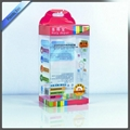 Clear PVC Packaging Box With Printing With Hanger On Top 5