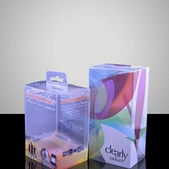 Clear PET Packaging Box For Christmas Gift